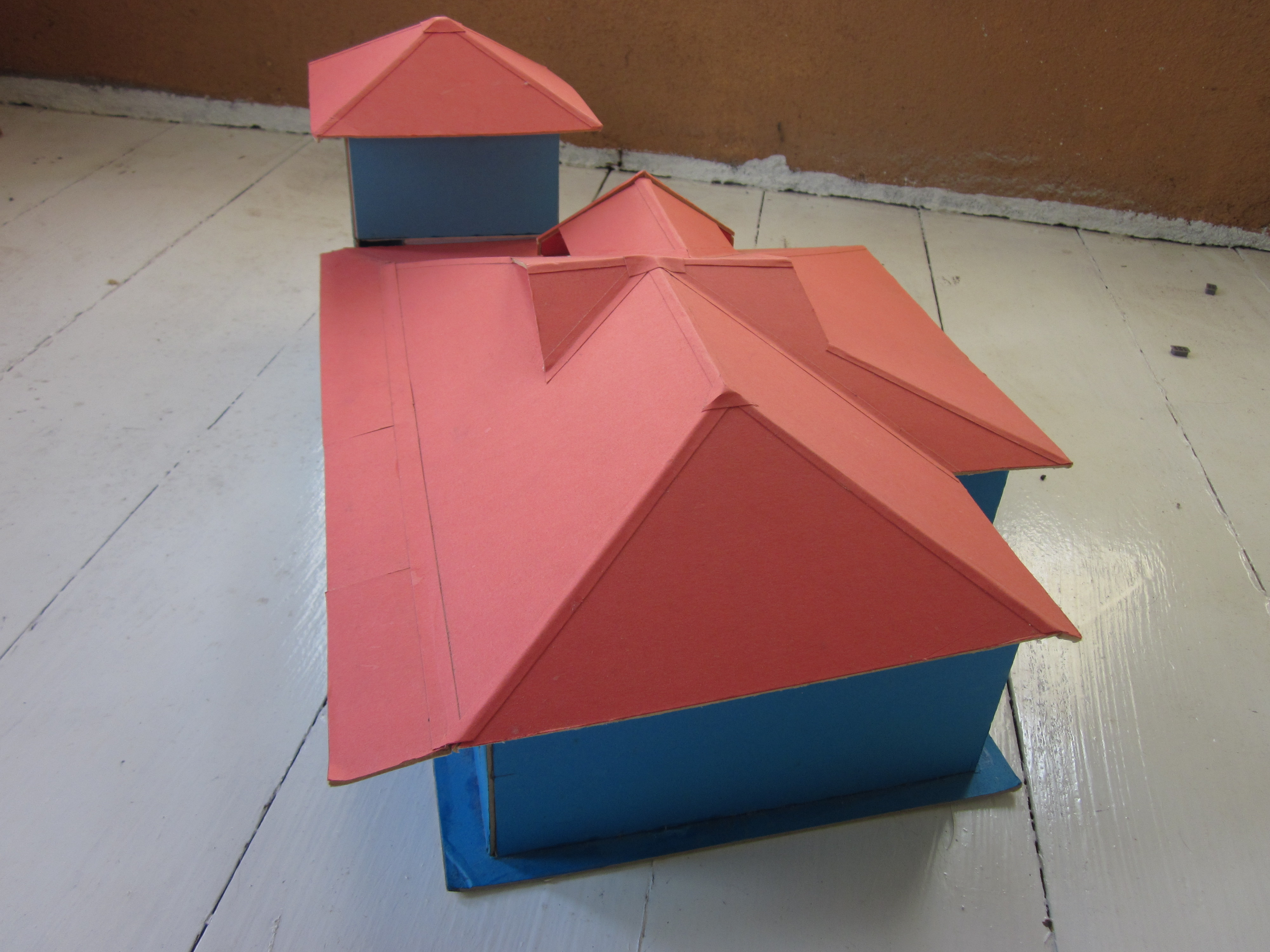 Picture of Mounting Board Model House