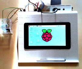 A Raspberry Pi & RPi touch screen workstation