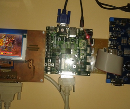Portable Game Console (ARM MCU Team)