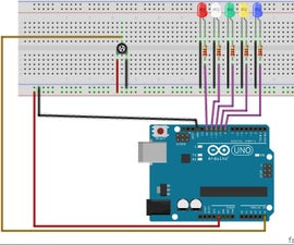 LED Series With Potentiometer