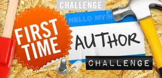 First Time Author Challenge
