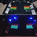 LED VU Equalizer Jacket With Speakers: Prototype 1