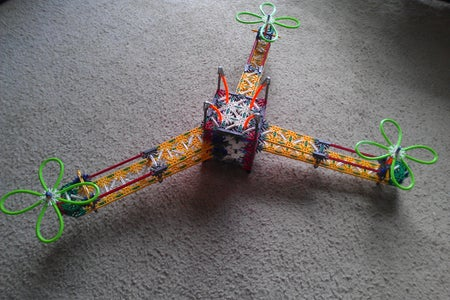 K'nex Tricopter Model!!!