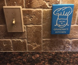 Artistic Decorative Outlet Cover