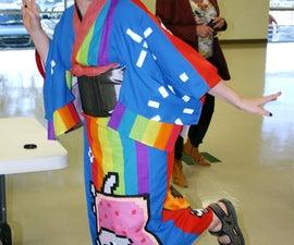 Nyan Cat and Tacnayn Kimono