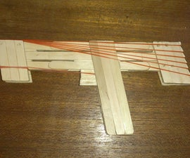 "Popsicle Stick Rubber Band Gun ""Escalator Action"""