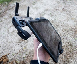 Drone IPad Mount