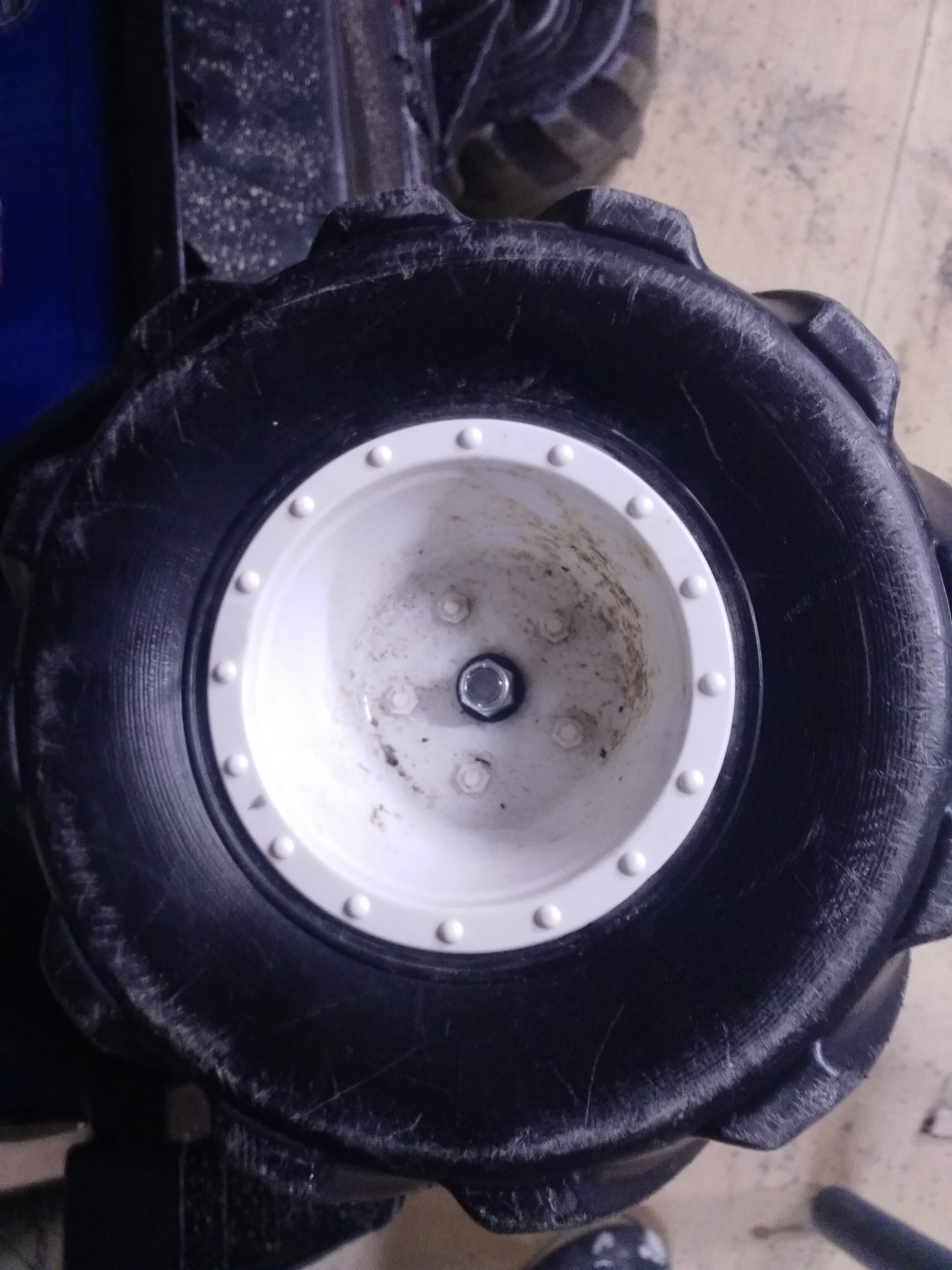 Picture of Attach the Wheel With New Nut
