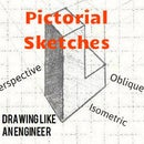 Inside the Engineer's notebook- A guide to pictorial sketches