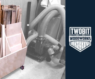 How to Build a Mobile Scrap Bin | DIY Woodworking Shop Project