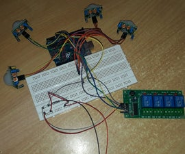 Arduino Controlling Multiple P.I.R Sensor on Same Bord