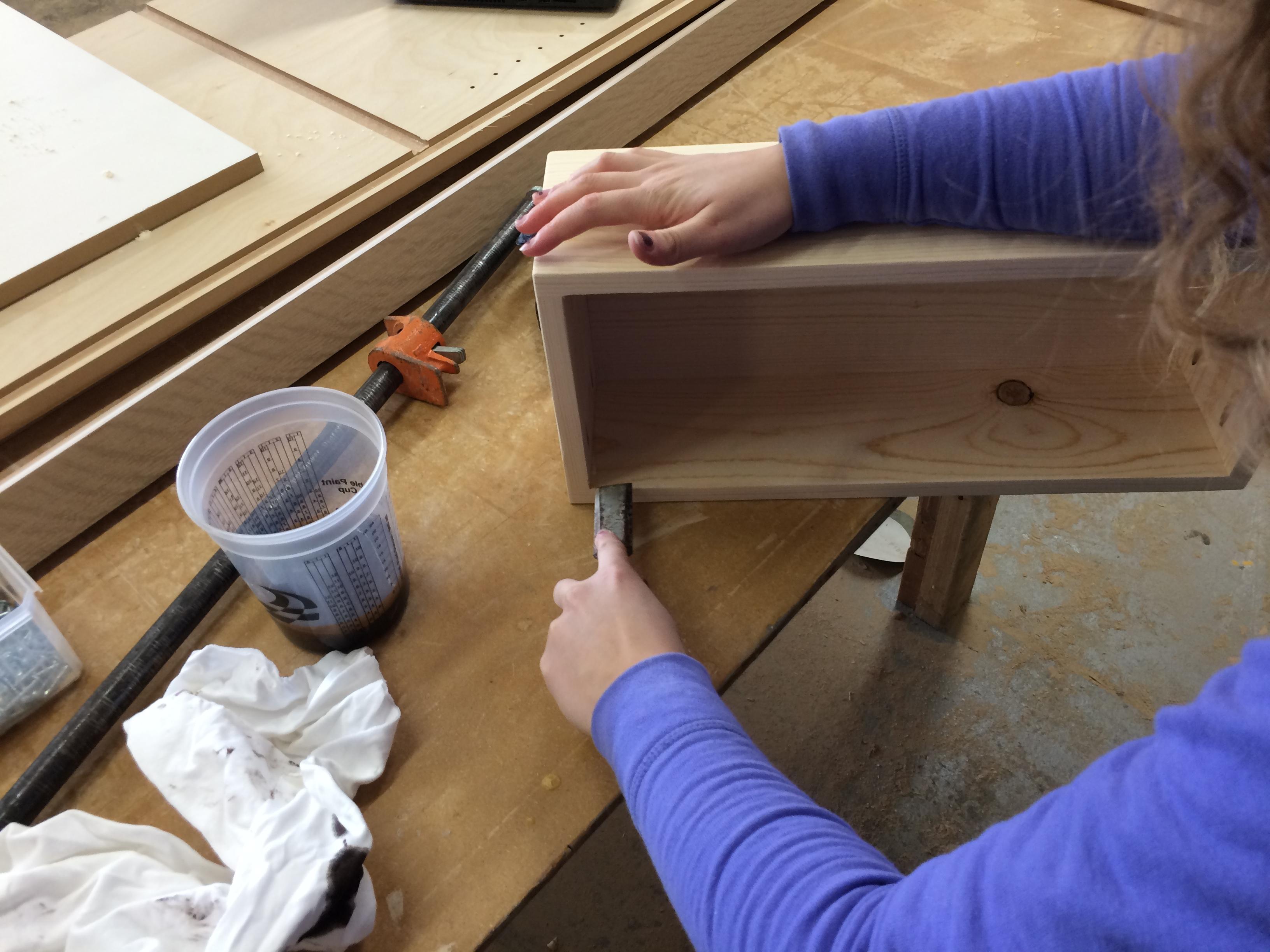 Picture of Step 7: Scrape Dry Glue