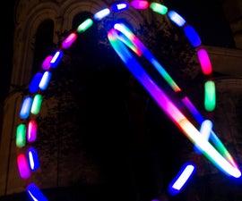 DIY RGB-LED Glow Poi With Remote Control