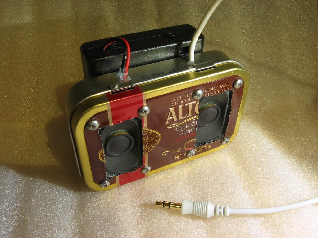 Picture of MintyBlaster - Altoids Stereo Speakers