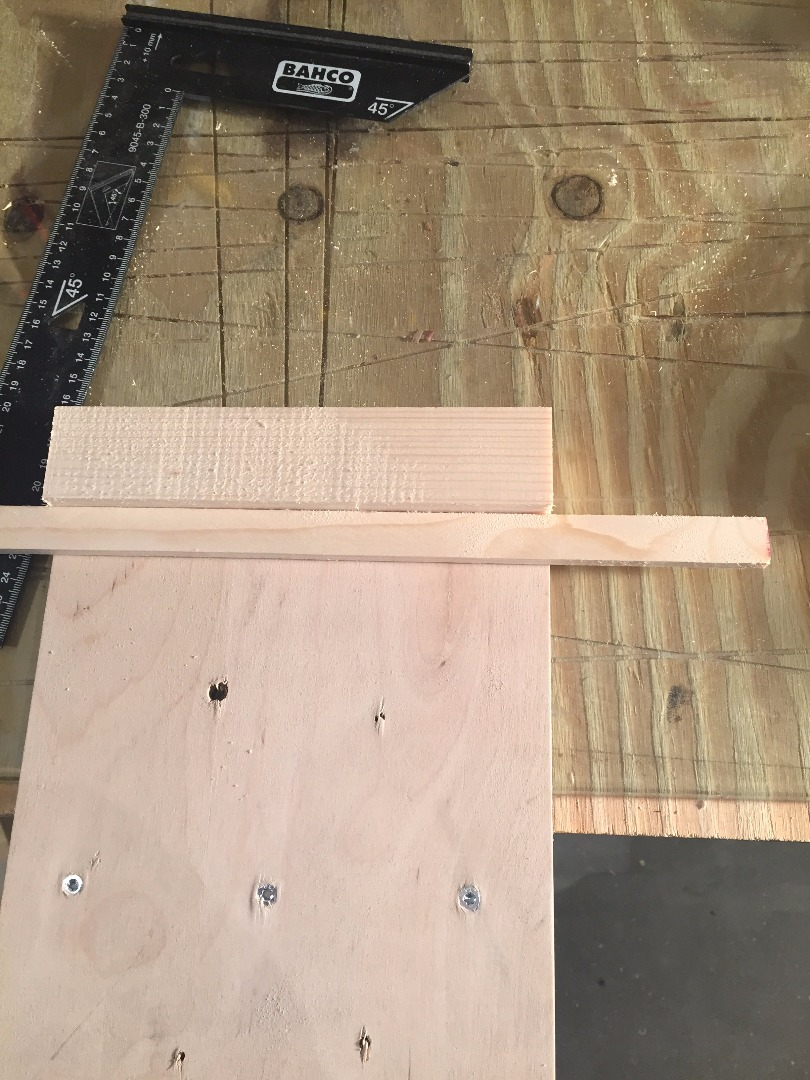 Picture of 3 Minutes Later and You Are Ready to Cut Using Your New Bench Hook