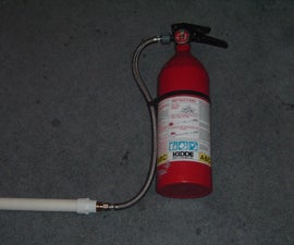 fire extinguisher air canon.