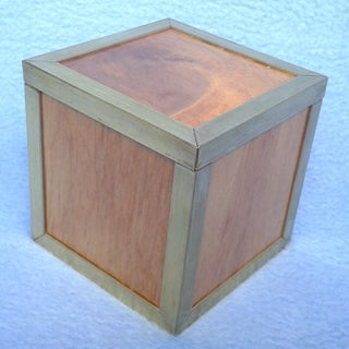 Wooden Puzzle: Six Blocks in a Box