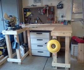 Wrap around workbench under $100