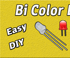 Bi Color LED Driver Circuit | Using 555 Timer IC | DIY | Easy | 5mm LED | Electronic Project