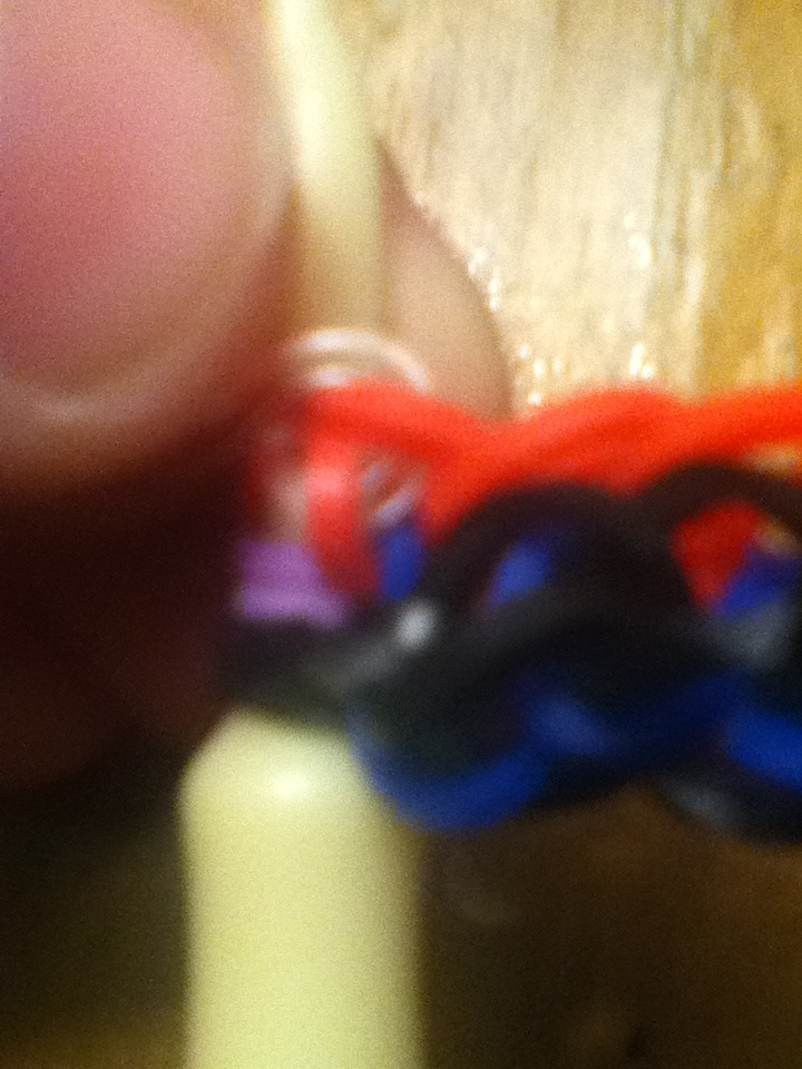 Picture of Removing From Loom.