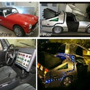 DeLorean Costume for Your Car! LED Magic!
