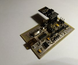 Simple ESP-01 Testboard