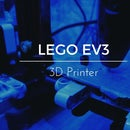 3D Printer With Lego EV3
