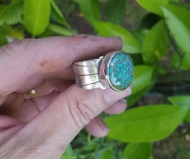Turquoise Mens Ring