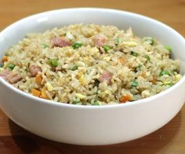 Japanese Fried Rice (Hibachi Style)