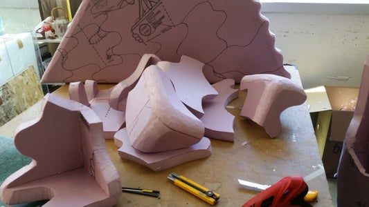 Drawing and Cutting the Puzzle Shapes
