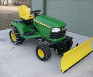 Transforming your Riding Lawn Mower into the Ultimate Snow Mover.