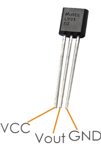 Connecting the Temperature Sensor, LED and PIR