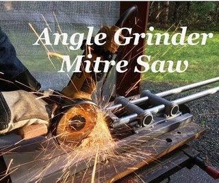 TRASH to Angle Grinder Mitre Saw