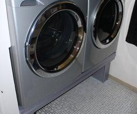 12-Step Washer/Dryer Pedestal