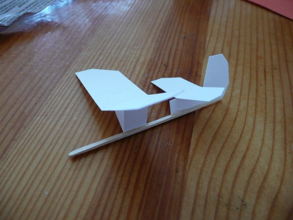 Simple Micro Toothpick Gliders!