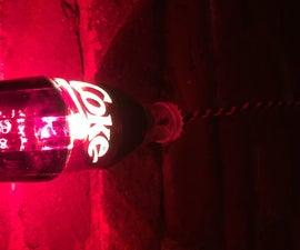 Coke Bottles Lamp