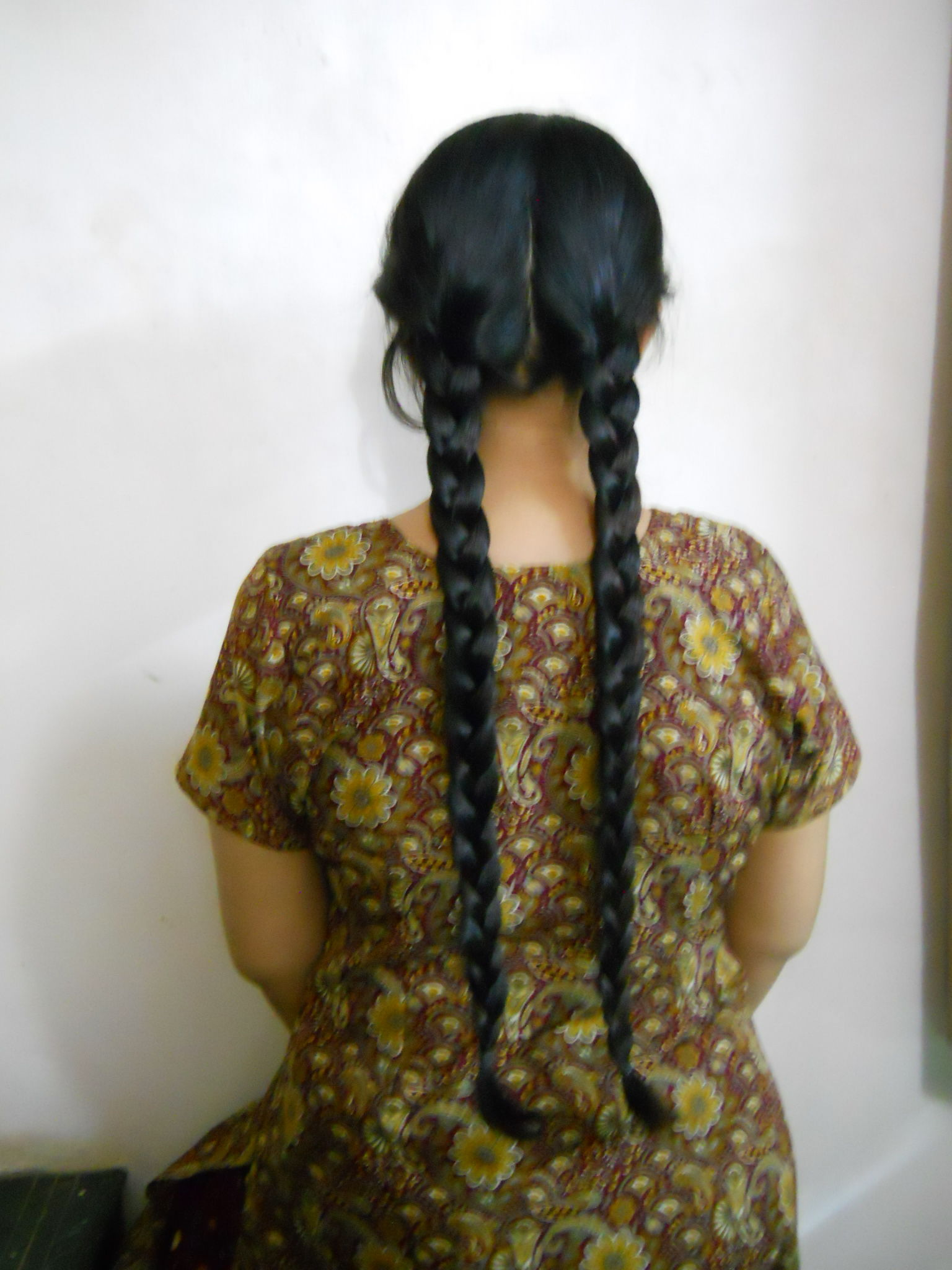 Picture of Super Easy Chinese Braided Bun