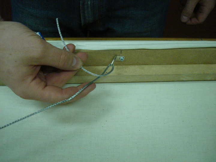 Picture of Install the Picture Wire