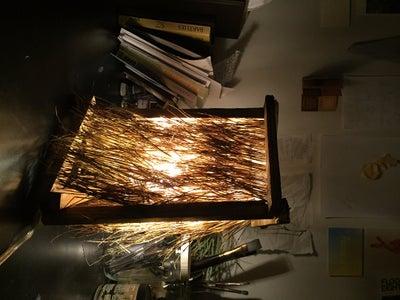 Pine Needle Lamp