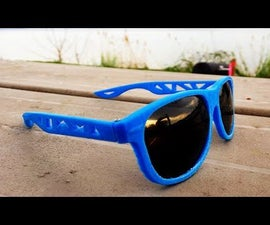 3D Printed Sunglasses