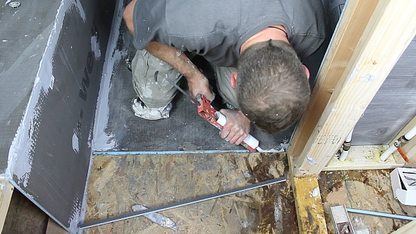 Picture of Fill Dado With Joint Sealant