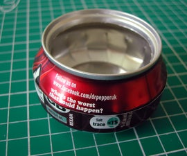 Johan's Favourite Alcohol Stove: One-Can Sideburner