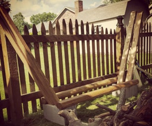 Firewood Rack Made Simple