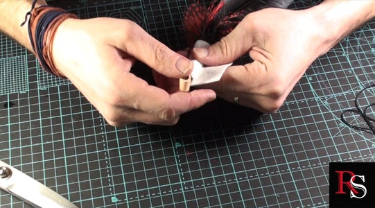 Leather Loop and Wrapping