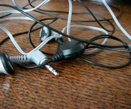 Renewing broken headphones