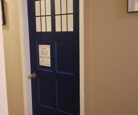 TARDIS Bedroom Door