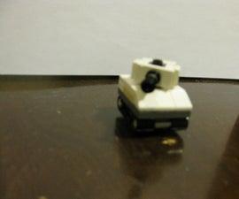 How to Make a Mini Lego Sherman Tank