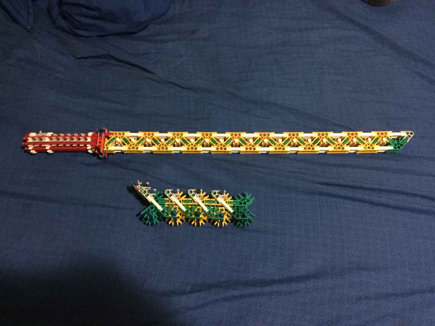 Picture of An Awsome Knex Sword, Very Sturdy and Reliable.