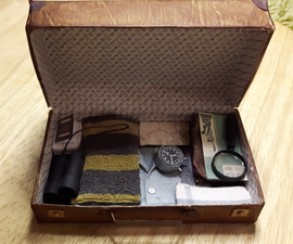Miniature Newt Scamander's Suitcase (Fantastic Beasts and Where to Find Them)