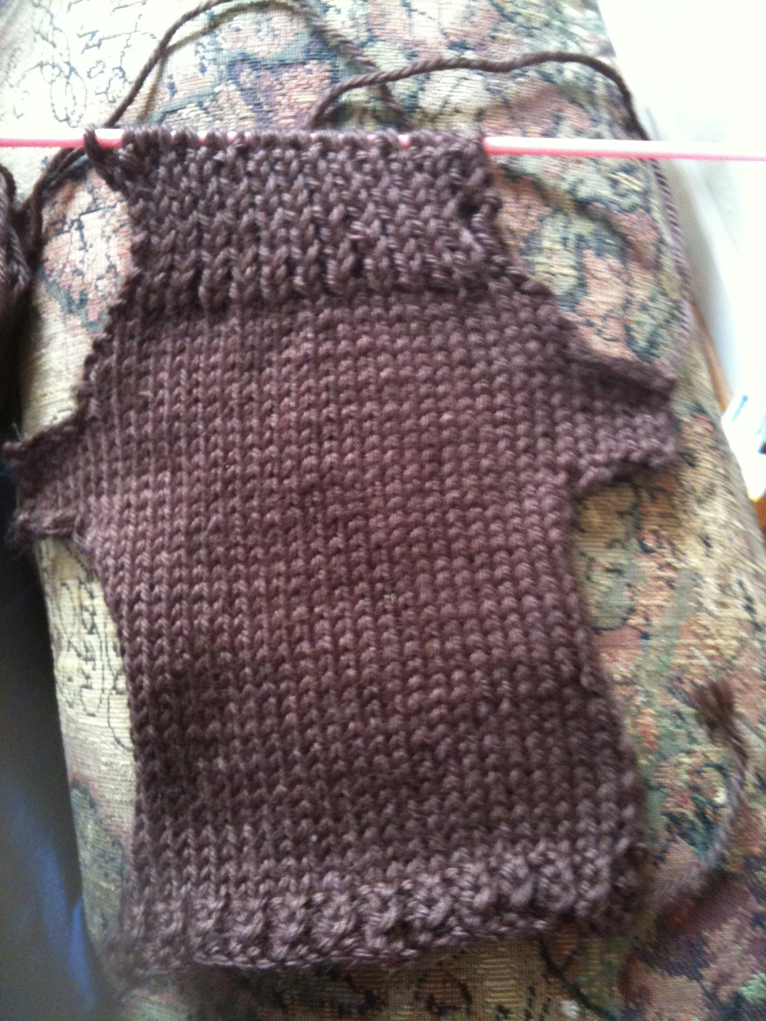 Picture of Rows 42-52 for Even Numbered Stitches